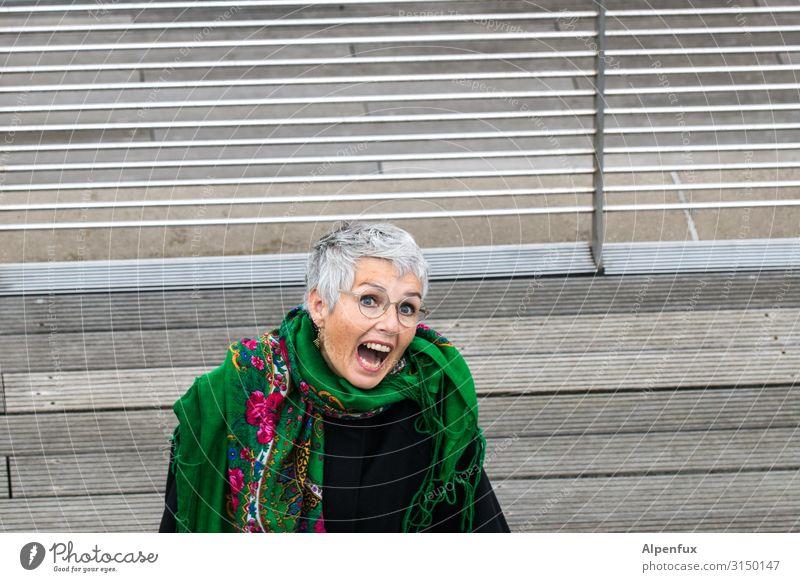 Portrait V | UT HH19 Mensch feminin Frau Erwachsene 45-60 Jahre Freude Glück Fröhlichkeit Zufriedenheit Lebensfreude Vorfreude Begeisterung selbstbewußt
