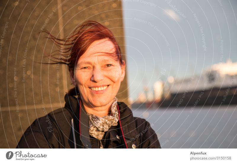 Portrait VII | UT HH19 Mensch feminin Frau Erwachsene 45-60 Jahre Freude Glück Fröhlichkeit Zufriedenheit Lebensfreude Vorfreude Begeisterung selbstbewußt