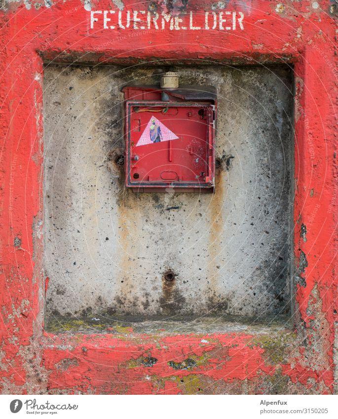 zum heulen Feuermelder Zeichen rot Sicherheit Schutz Hilfsbereitschaft Verantwortung Wachsamkeit Hoffnung Liebeskummer Einsamkeit Erschöpfung Angst Entsetzen