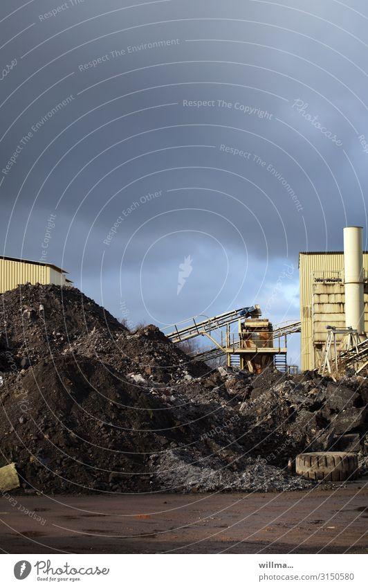 der tag beginnt mit kohlendreck Umwelt Energiewirtschaft Industrie planen Umweltschutz Politik & Staat Umweltverschmutzung Haufen protestieren Kohle