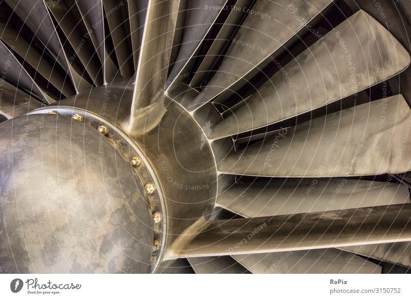 Strahltriebwerkspropeller eines Concorde-Flugzeugs. Lifestyle Design Freizeit & Hobby Ferien & Urlaub & Reisen Tourismus Bildung Wissenschaften