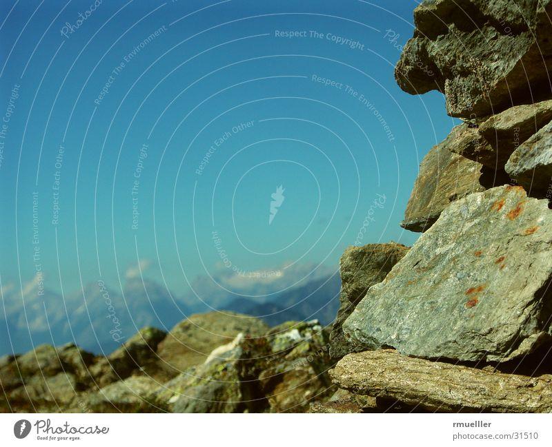 Felsaltar Natur Himmel Wolken Berge u. Gebirge Landschaft Felsen Alpen Altar