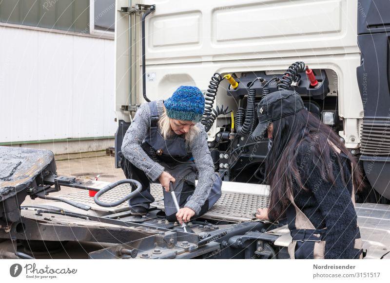 Teamarbeit Arbeit & Erwerbstätigkeit Beruf Handwerker Arbeitsplatz Wirtschaft Industrie Güterverkehr & Logistik Werkzeug Maschine Technik & Technologie