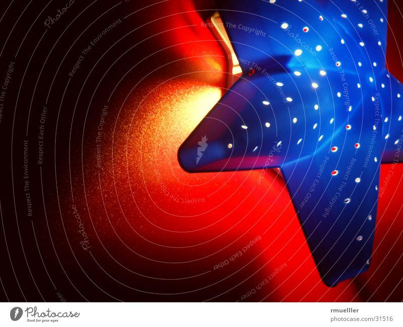 Sternenhimmel I blau rot Lampe Stimmung Beleuchtung Stern (Symbol) Häusliches Leben