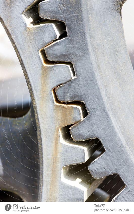 Zahnräder 1 Maschine Baumaschine Motor Getriebe Zeitmaschine Technik & Technologie ästhetisch Zahnrad Farbfoto Außenaufnahme
