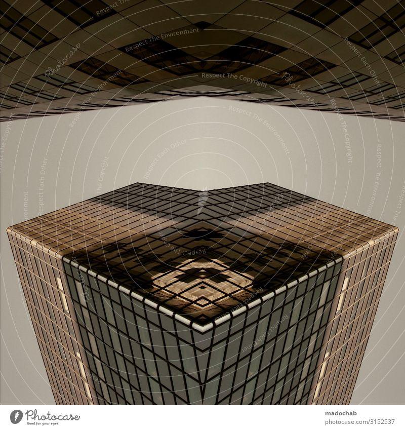 THE CUBE Wissenschaften Fortschritt Zukunft High-Tech Energiekrise Raumfahrt Hochhaus Bankgebäude Bauwerk Gebäude Architektur Höhenangst Hochmut Beginn