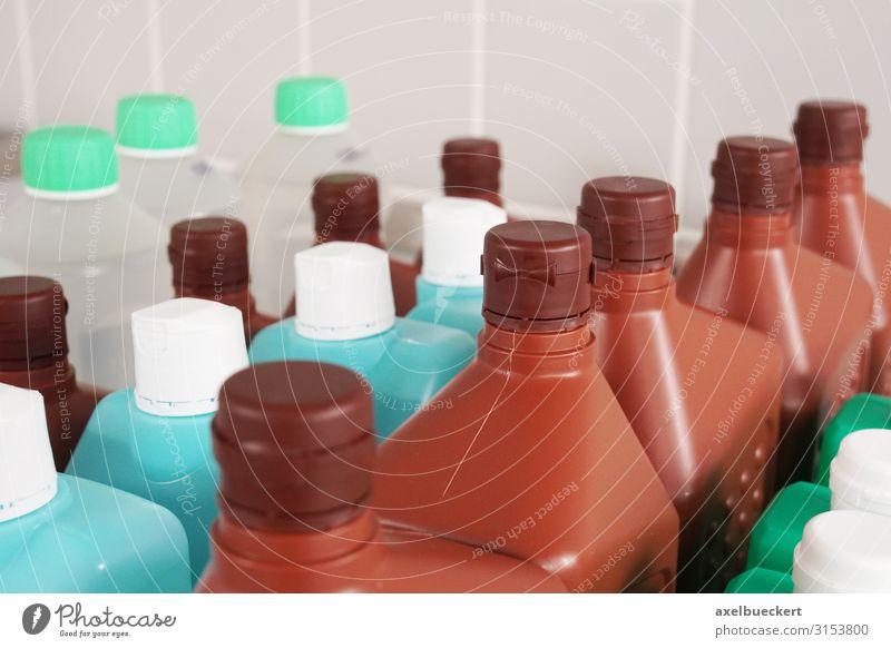 Desinfektionsmittel Krankenhaus Gesundheitswesen Kunststoffverpackung Sauberkeit viele Reihe Flasche desinfektionsmittel Reinigungsmittel Reinigen steril