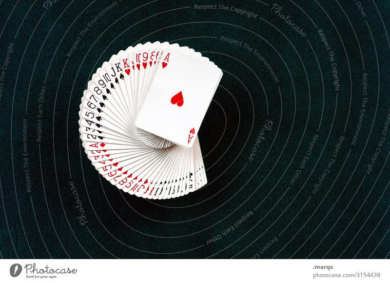 Deck of Cards Freizeit & Hobby Spielen Kartenspiel Poker Glücksspiel Ass Spielsucht Freude Hoffnung Ordnung Spielkasino Stapel Fächer Las Vegas Spieler Farbfoto