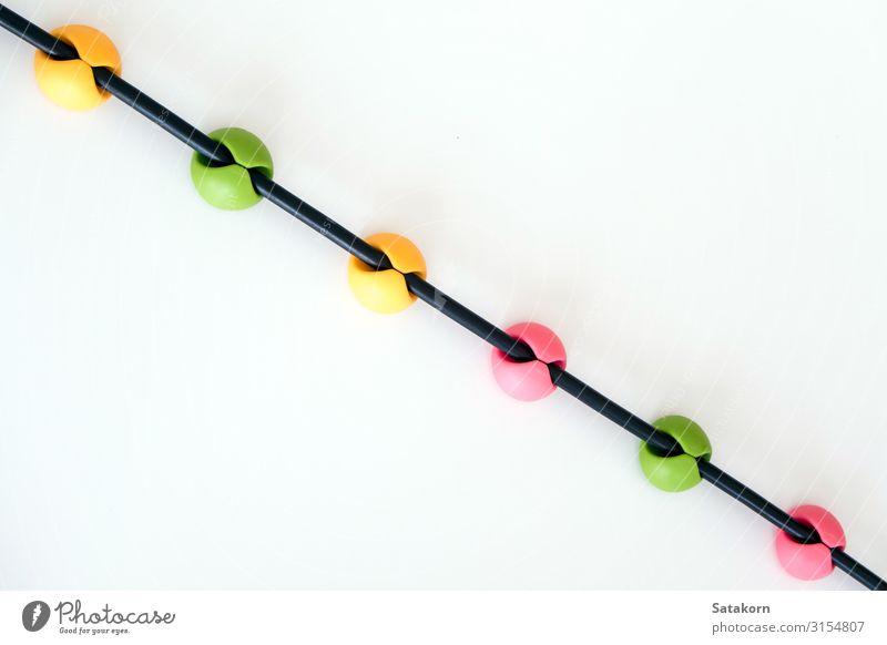 grün weiß gelb rosa Linie Kunststoff heimwärts greifen elektrisch verbinden Magazin