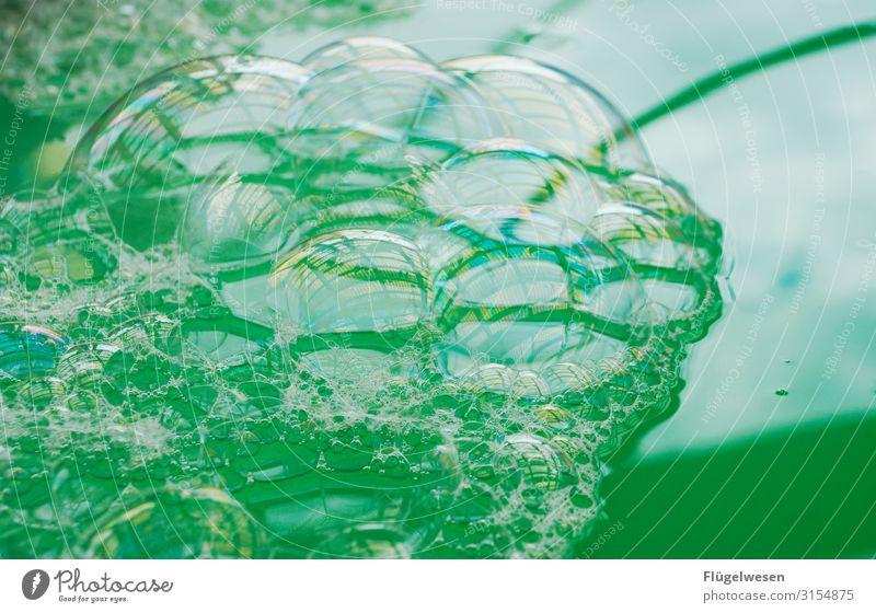Blubber Seifenblase Seifenschaum Seifenwasser Wasser blasen Blase fit Spülmittel spülen