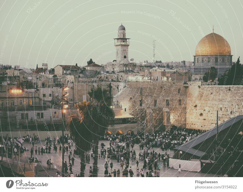 It's Shabbat Bauwerk Sehenswürdigkeit Wahrzeichen Denkmal Religion & Glaube Klagemauer Judentum Israel Jerusalem Ost-Jerusalem Gebet schabbat Feiertag Mauer