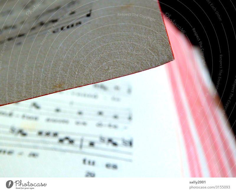 Geschriebenes | zum Singen... alt rot Religion & Glaube Senior Musik Buch Ecke dünn Gebet Buchseite singen Gottesdienst Musiknoten Antiquität Latein Gesangbuch