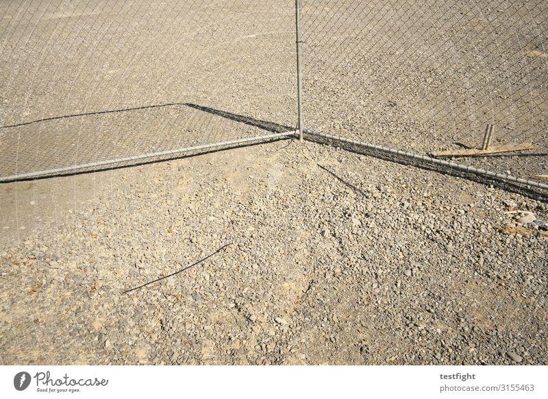 bauzaun Baustelle Zaun bauen schließen Bauzaun