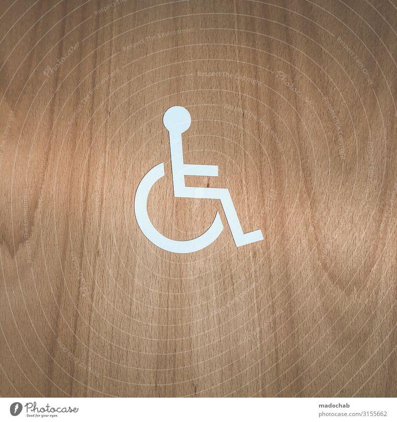 EAMES LOUNGE CHAIR - Rollstuhl Piktogramm Behinderung Handicap Körper Gesundheit Gesundheitswesen Behandlung Seniorenpflege Krankenpflege Krankheit Leben