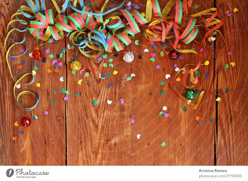 party Freude Dekoration & Verzierung Party Veranstaltung Feste & Feiern Karneval Silvester u. Neujahr Geburtstag Discokugel Fröhlichkeit lustig mehrfarbig