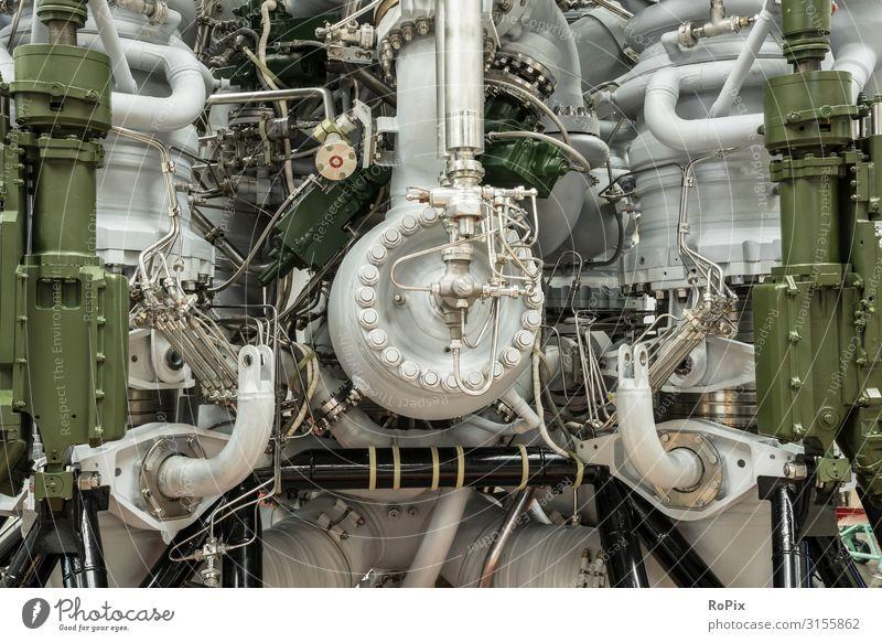 Detail eines Raketenmotors. Lifestyle Design Freizeit & Hobby Modellbau Ferien & Urlaub & Reisen Tourismus Sightseeing Bildung Wissenschaften