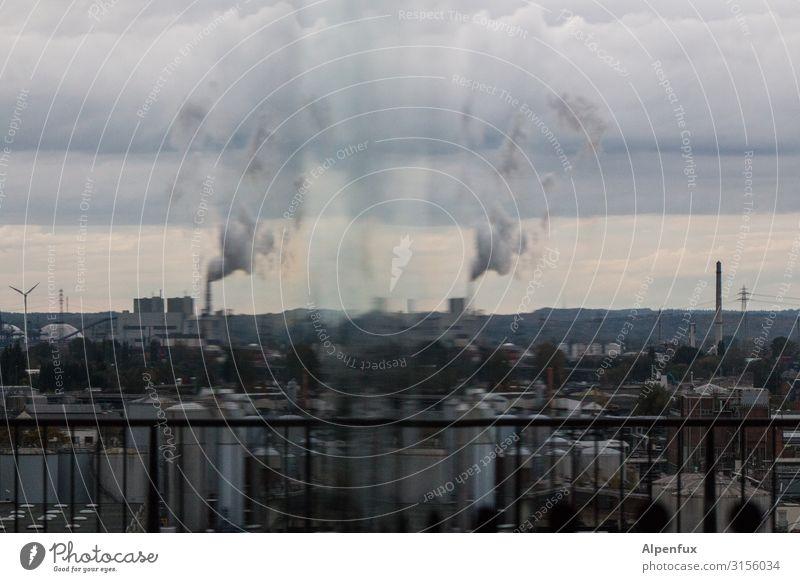 Hamburger Hafenprisma | UT HH19 Hafenstadt Industrieanlage Fabrik Schornstein Business Endzeitstimmung Gesellschaft (Soziologie) Klima Konkurrenz nachhaltig