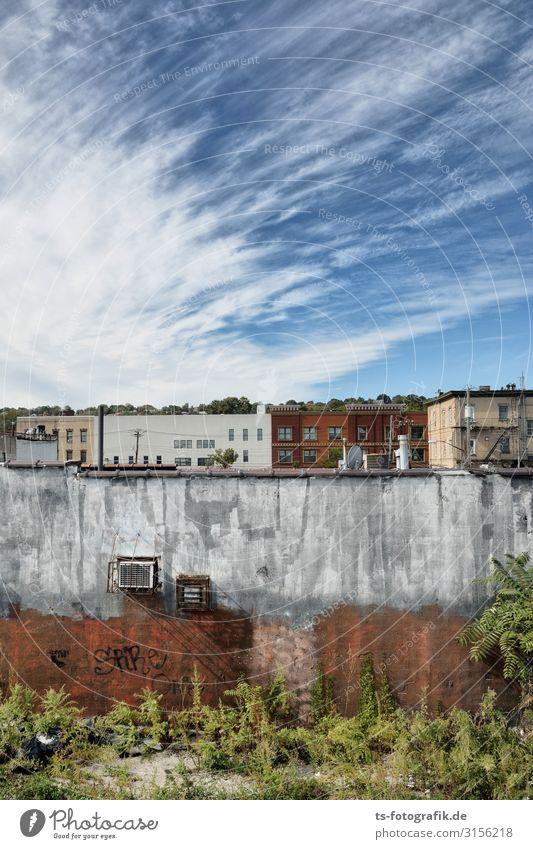 Staten Island Himmelserscheinung Umwelt Natur Wolken Schönes Wetter New York City Stadt Stadtzentrum Altstadt Menschenleer Haus Ruine Bauwerk Gebäude