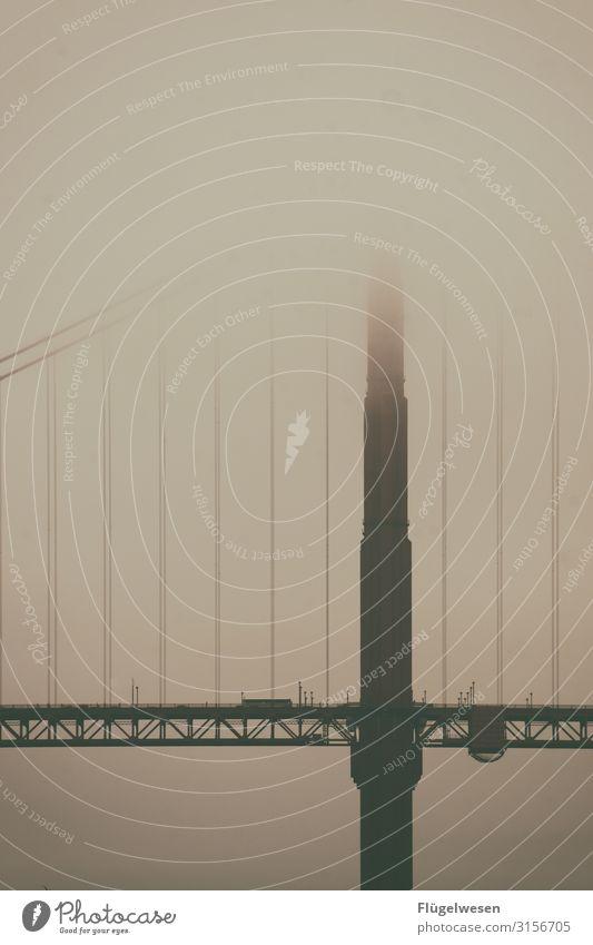 Golden Gate Golden Gate Bridge Nebel Nebelstimmung Amerika USA San Francisco San Francisco Bay