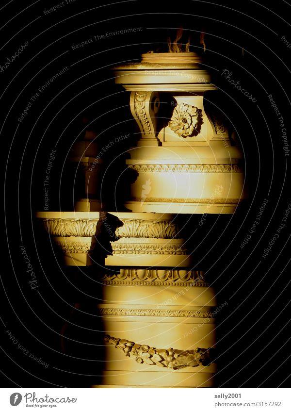 verschoben... Kirche Säule ästhetisch fantastisch Religion & Glaube Surrealismus Verschiebung Renaissance Lichteinfall gold Architektur Schatten Schattenspiel