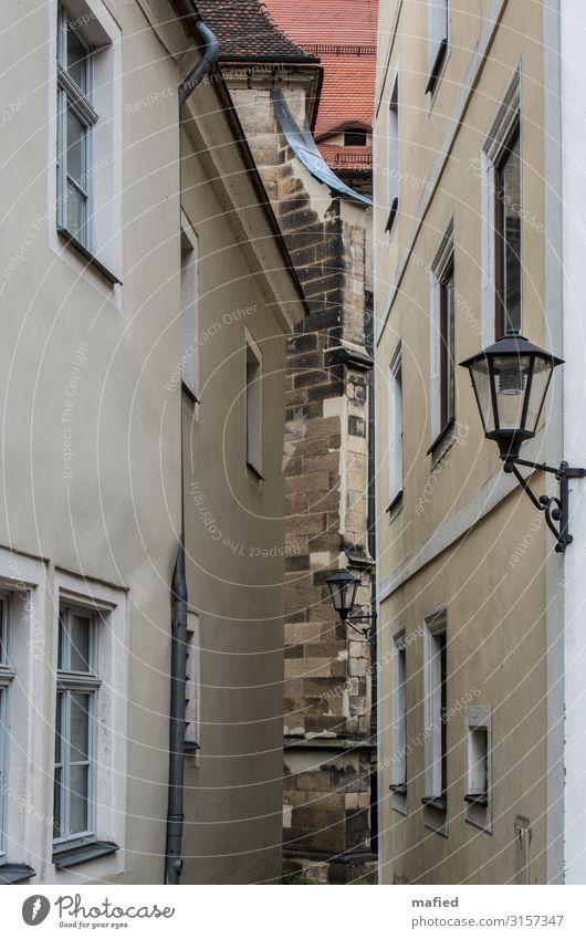 Pirna 2015 Stadt rot Haus Architektur gelb Wand Mauer braun Kirche Altstadt