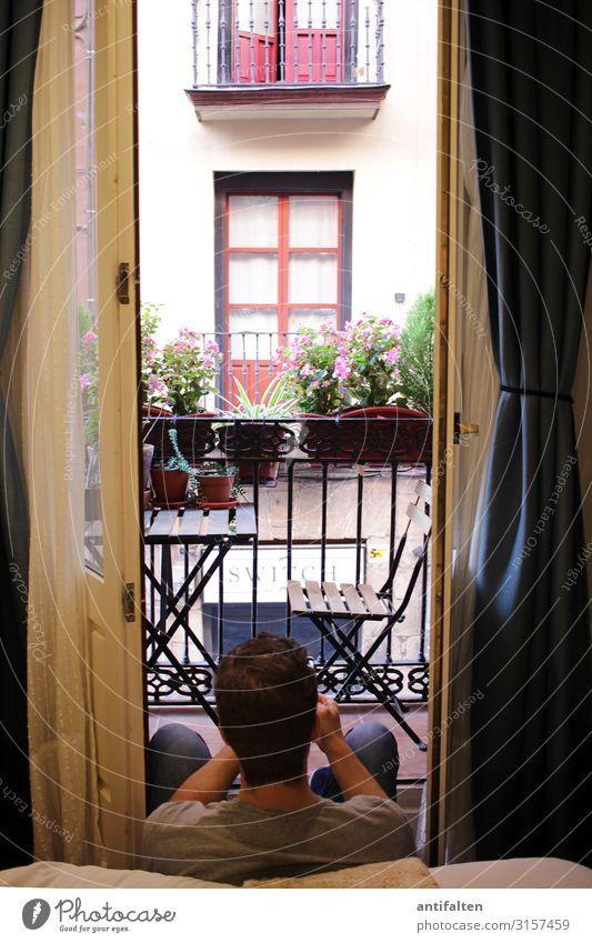 800 Ansichten Mensch Ferien & Urlaub & Reisen Mann Stadt Erholung Fenster Erwachsene Wand Gebäude Tourismus Mauer Fassade Häusliches Leben Wohnung Raum maskulin