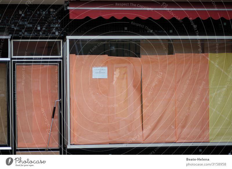 lebensnotwendig: Infrastruktur Ladenlokal Schaufenster Aufgabe Schließung pleite bankrott Ladengeschäft verlassen Einzelhandel Wirtschaft corona geschlossen
