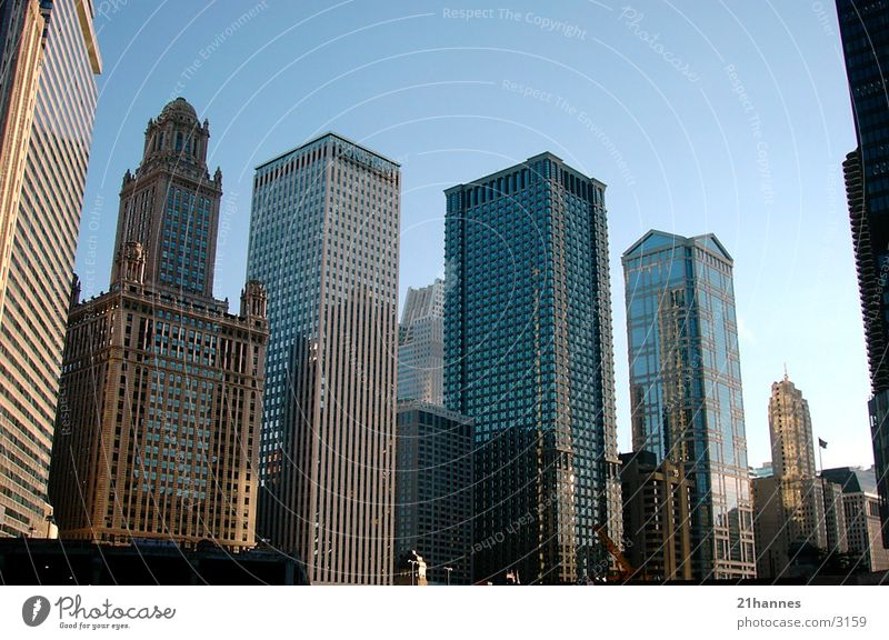 chicago.buildings.1 Chicago Amerika Stil Architektur USA