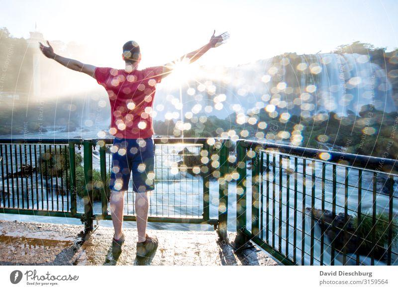 Kraft tanken Ferien & Urlaub & Reisen Natur Sommer Wasser Landschaft Erholung ruhig Gesundheit Religion & Glaube Frühling Zufriedenheit maskulin Erfolg