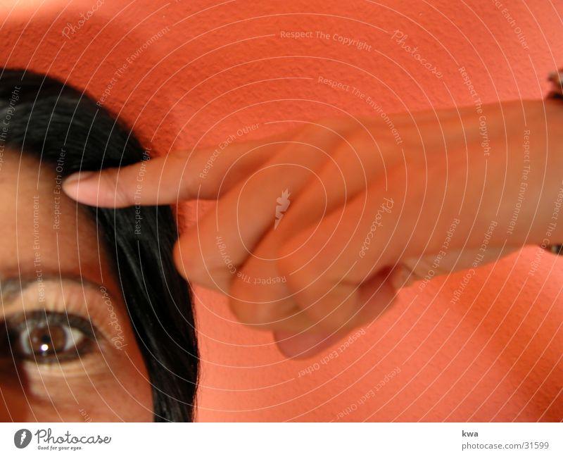 kopfarbeit Frau Gesicht Kopf Denken