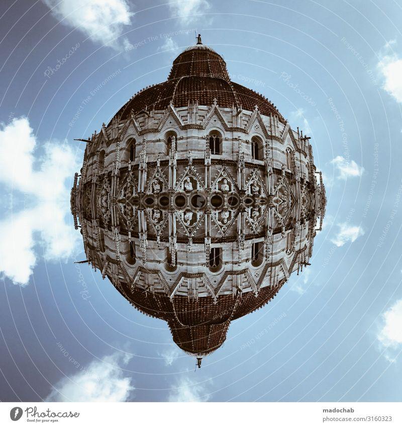Pisa Sightseeing Städtereise Sehenswürdigkeit Kuppel Ferien & Urlaub & Reisen Tourismus Ausflug Ferne Freiheit Skyline Dom Palast Burg oder Schloss Ruine
