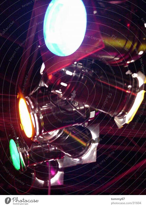 spot on Farbe Lampe Beleuchtung Freizeit & Hobby Show Bühne Licht Scheinwerfer Reaktionen u. Effekte Filter