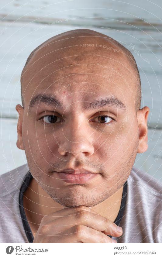 Mensch Jugendliche Mann Junger Mann weiß Hand 18-30 Jahre Gesicht Auge Lifestyle Erwachsene Haare & Frisuren Kopf maskulin Körper frisch