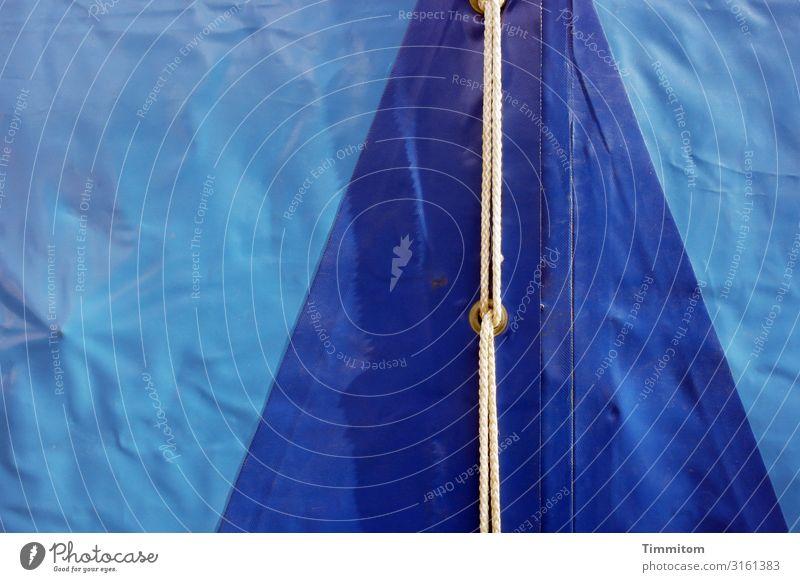 Blaublau. weiß Gefühle Feste & Feiern Ordnung ästhetisch Kunststoff Jahrmarkt Köln Zelt Verschluss