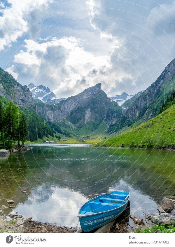 Seealpsee Freude Wellness Leben Wohlgefühl Freizeit & Hobby Ferien & Urlaub & Reisen Tourismus Abenteuer Berge u. Gebirge wandern Wassersport Rudern Ruderboot
