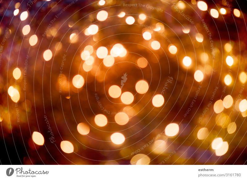 Weihnachtsbeleuchtung Bokeh, abstrakte Bokehbeleuchtung Design Schnee Dekoration & Verzierung Feste & Feiern Weihnachten & Advent Silvester u. Neujahr Kunst