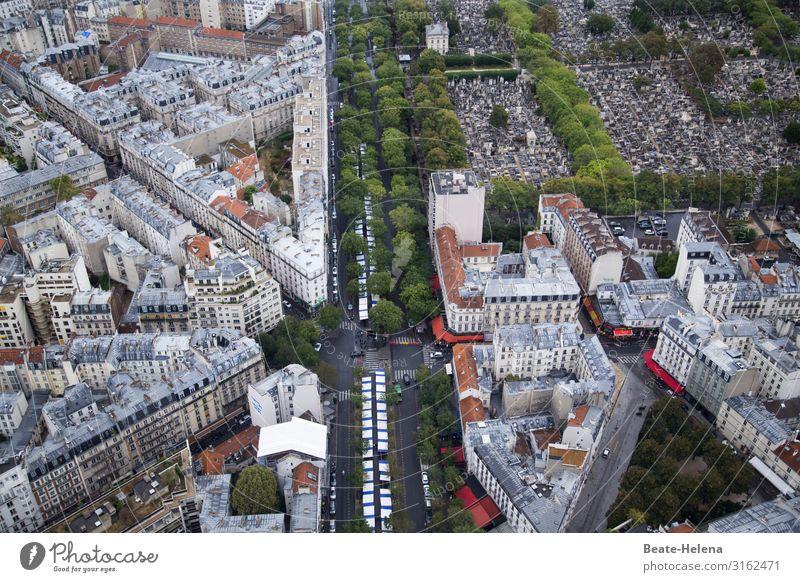 Paris Montparnasse Ferien & Urlaub & Reisen Wohnung Umwelt Park Friedhof Stadtzentrum Gebäude Verkehrswege Straße Stein Arbeit & Erwerbstätigkeit beobachten