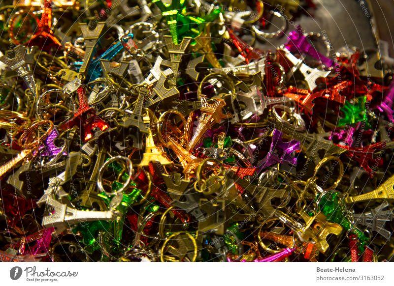 Firlefanz | Eiffelturm Leben klein Metall leuchten modern glänzend ästhetisch verrückt Gold kaufen Zeichen entdecken Kitsch wählen gruselig verkaufen
