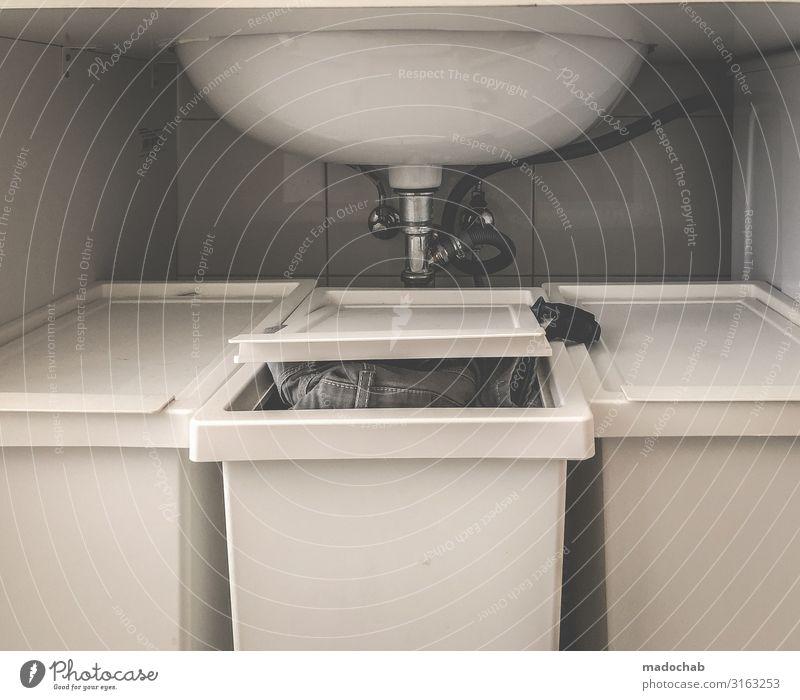 Wegen Überfüllung geöffnet - Behind the scene Lifestyle Häusliches Leben Wohnung einrichten Innenarchitektur Dekoration & Verzierung Bad fleißig Ordnungsliebe