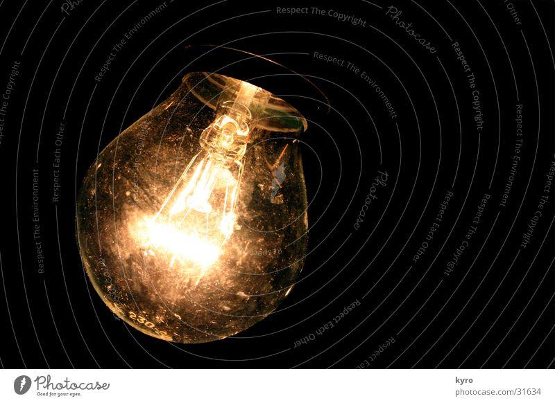 und siehe ... Lampe hell Glas Elektrizität Technik & Technologie durchsichtig Draht Glühbirne Halterung Elektrisches Gerät Drehgewinde Glühdraht