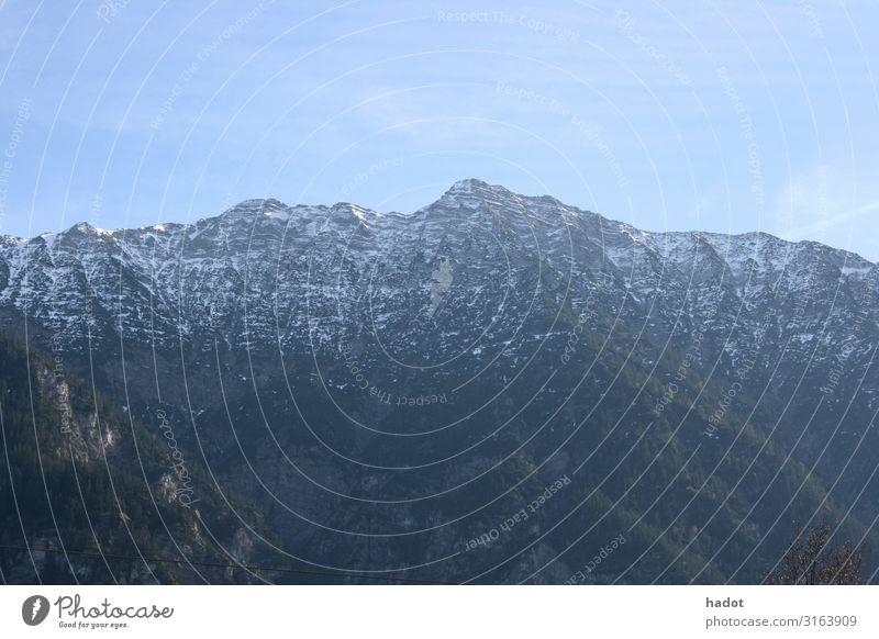 Gebirge Erholung Freizeit & Hobby Berge u. Gebirge wandern Klettern Bergsteigen Natur Landschaft Herbst Wald Felsen Schlucht Stein blau grün Mountains rocks