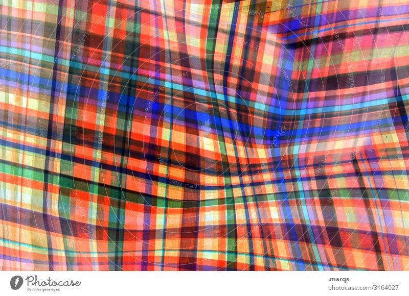 LSD Lifestyle Stil Design Kunststoff Linie Streifen außergewöhnlich Coolness trendy einzigartig blau mehrfarbig grün orange rot Farbe Surrealismus Irritation