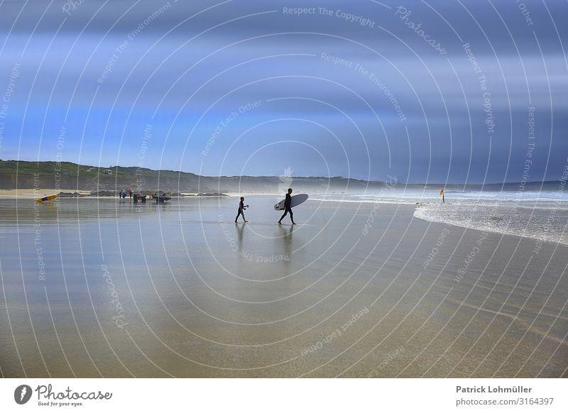 Kurze Leine Freizeit & Hobby Surfen Ferien & Urlaub & Reisen Tourismus Ausflug Sommerurlaub Sport Wassersport Surfbrett Mensch maskulin Junge Mann Erwachsene