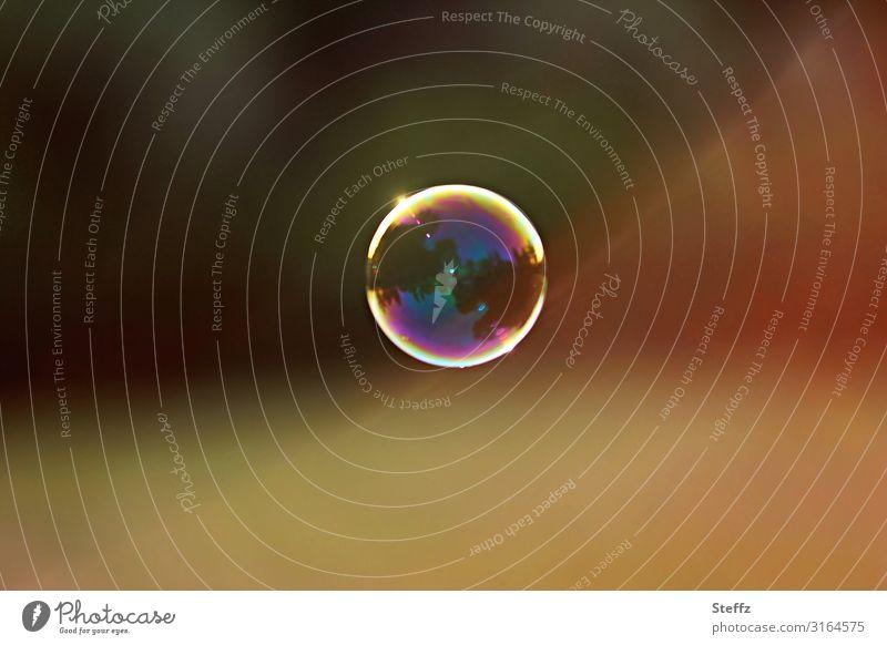 magic bubble Sommer Kugel glänzend rund mehrfarbig gelb Stimmung Fröhlichkeit Gelassenheit Unbeschwertheit Leichtigkeit einzigartig Freude Idylle Lebensfreude