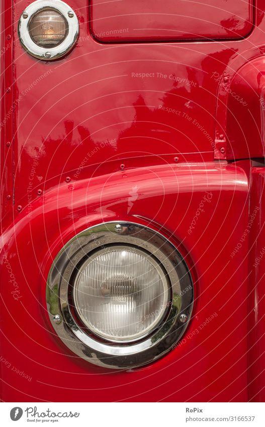 Detail eines klassischen Londoner Busses. Lifestyle Design Freizeit & Hobby Ferien & Urlaub & Reisen Tourismus Sightseeing Städtereise Kreuzfahrt Wirtschaft