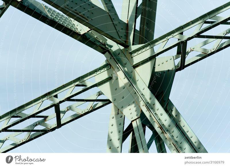 Blaues Wunder, Loschwitz Altstadt Architektur Brücke Dresden Elbe Elbufer Hauptstadt Ferien & Urlaub & Reisen Reisefotografie Sachsen Stadt Städtereise