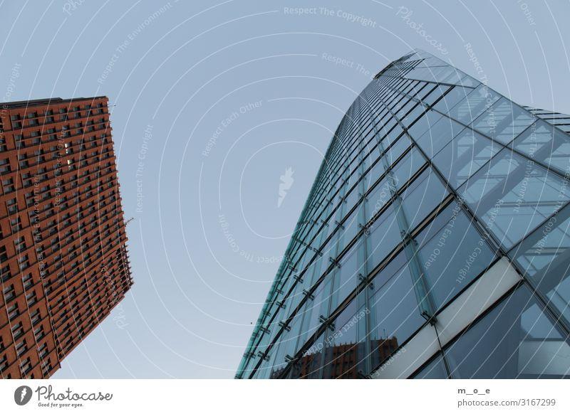 Berlin Bottom to Top am Postdamer Platz Sightseeing Städtereise Arbeit & Erwerbstätigkeit Büroarbeit Wirtschaft Dienstleistungsgewerbe Kapitalwirtschaft