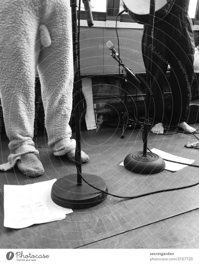 flauschig Mensch Beine lustig Kunst außergewöhnlich Freizeit & Hobby Musik verrückt Coolness Show Hose Fell Veranstaltung Karneval Penis trashig