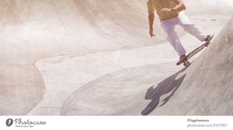 Skating USA [4] Ferien & Urlaub & Reisen Tourismus Ausflug Abenteuer Sport Sportler Skateboarding Bewegung Sportpark Skateplatz Skaterhalle Skaterbahn
