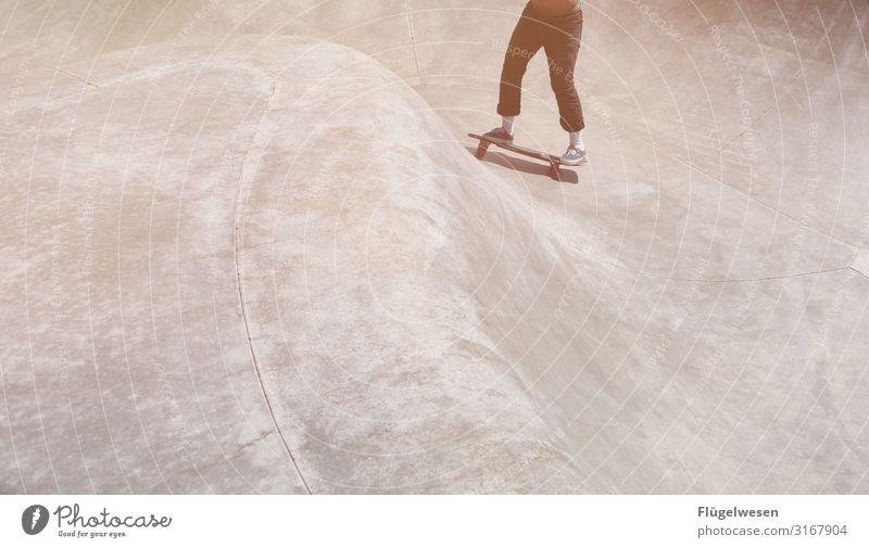 Skating USA [2] Ferien & Urlaub & Reisen Tourismus Ausflug Abenteuer Sport Sportler Skateboarding Bewegung Sportpark Skateplatz Skaterhalle Skaterbahn